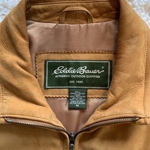 Men's Eddie Bauer Suede Leather Jacket